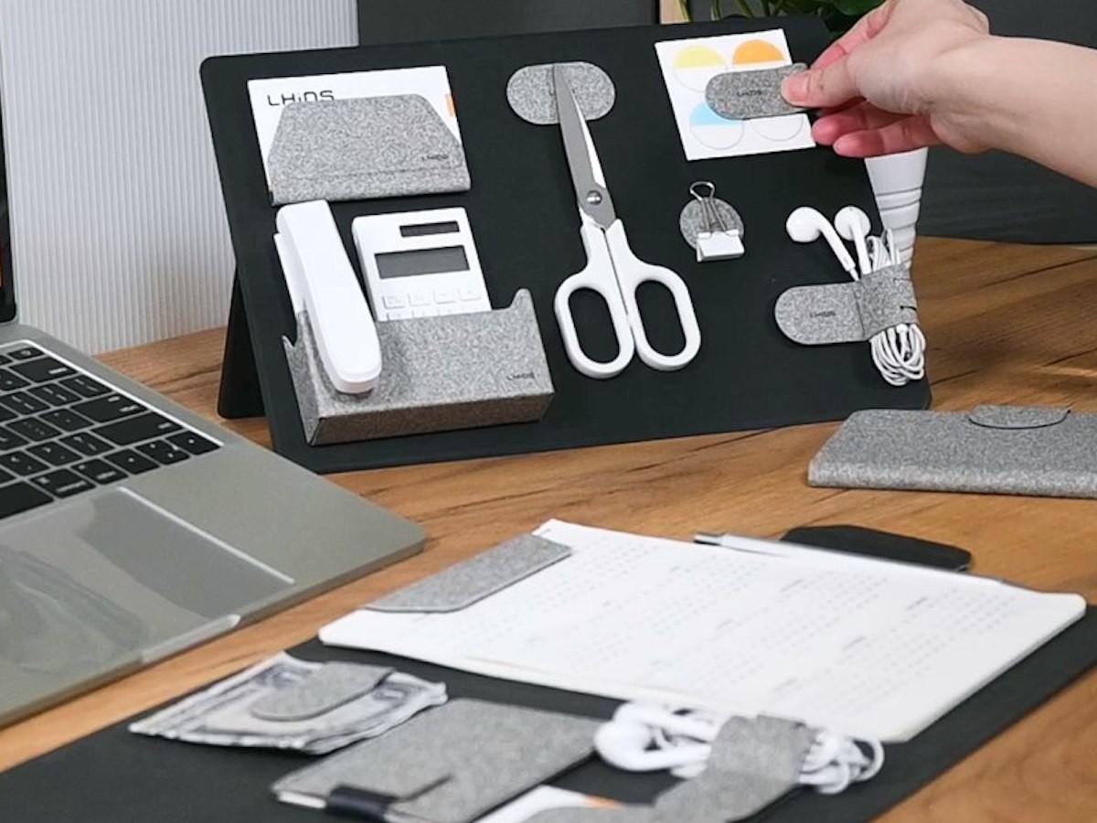 LHiDS Creative MagEasy Magnetic Essentials Organizer keeps your work items tidy