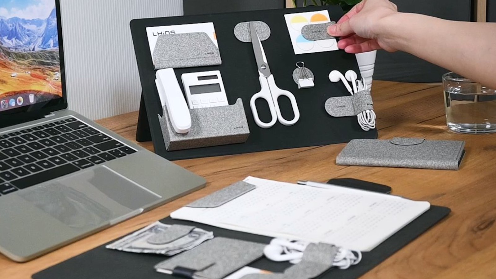 LHiDS Creative MagEasy Magnetic Essentials Organizer keeps your work items tidy