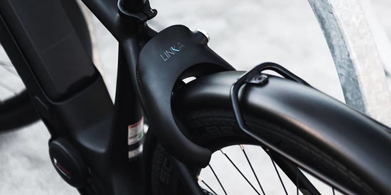 LINKA LEO GPS Smart Bike Lock