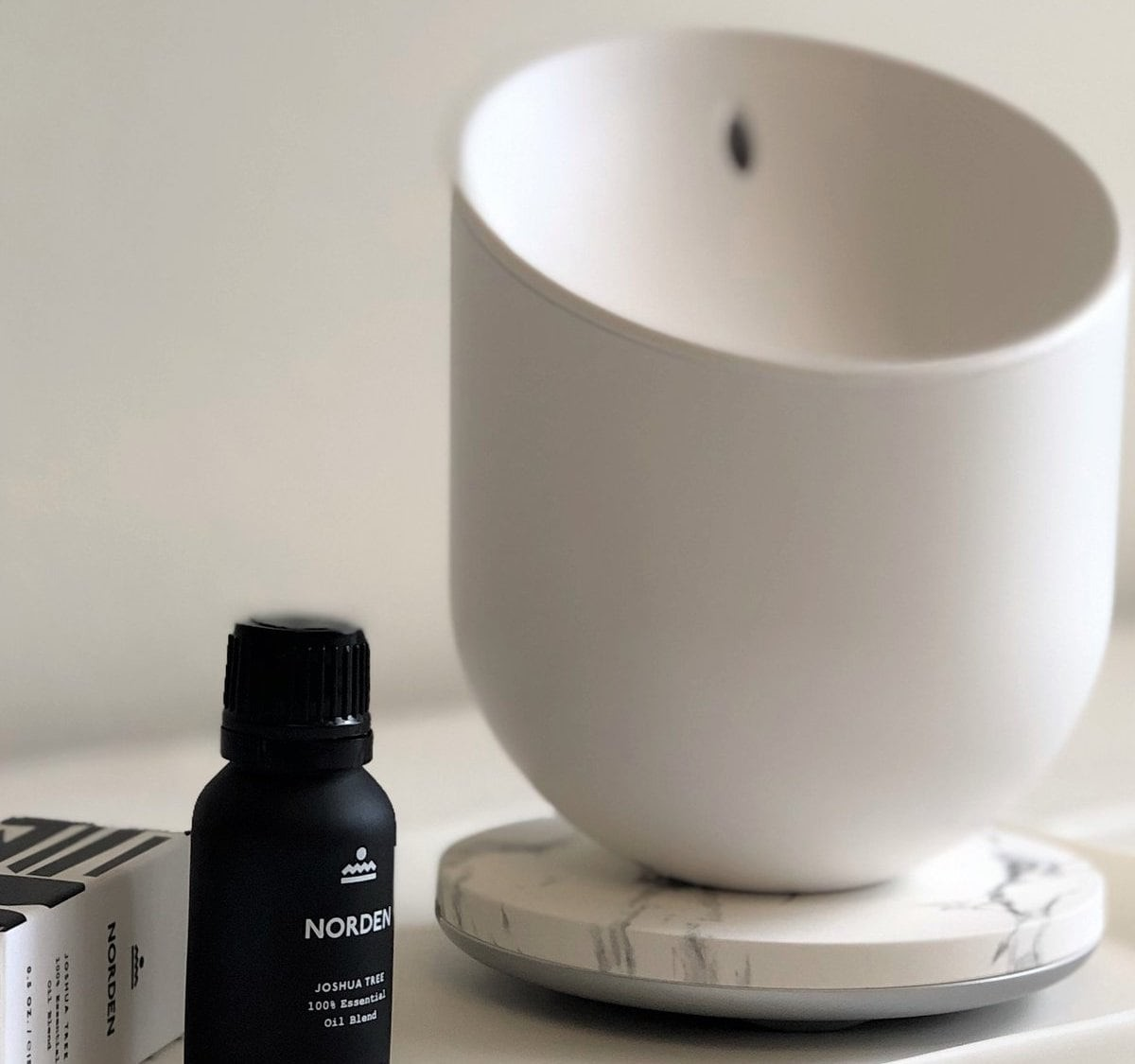 Lexon Miami Scent Ultrasonic Aroma Diffuser fills a room with beautiful fragrance