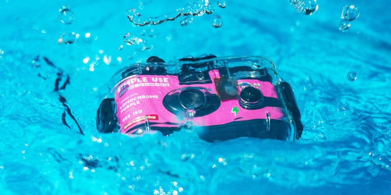 Lomography Analogue Aqua Reloadable Camera