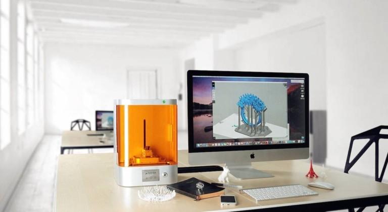 M Jewelry A Professional UV-LED, Wireless DLP 3D Printer