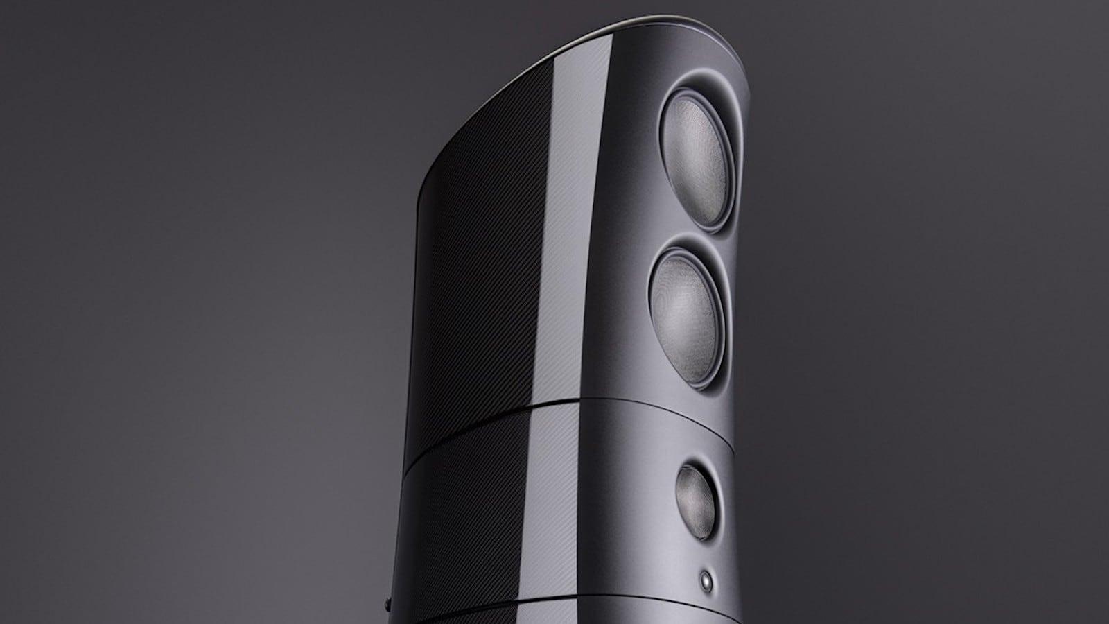 Magico M9 Carbon Fiber Loudspeaker limits vibrations while delivering excellent sound