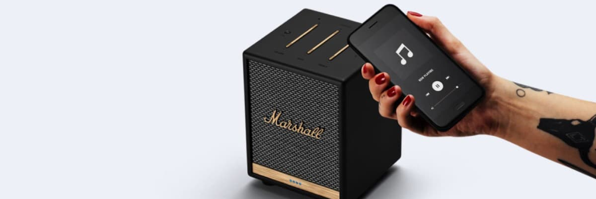 Marshall Uxbridge Voice Compact Alexa Speaker