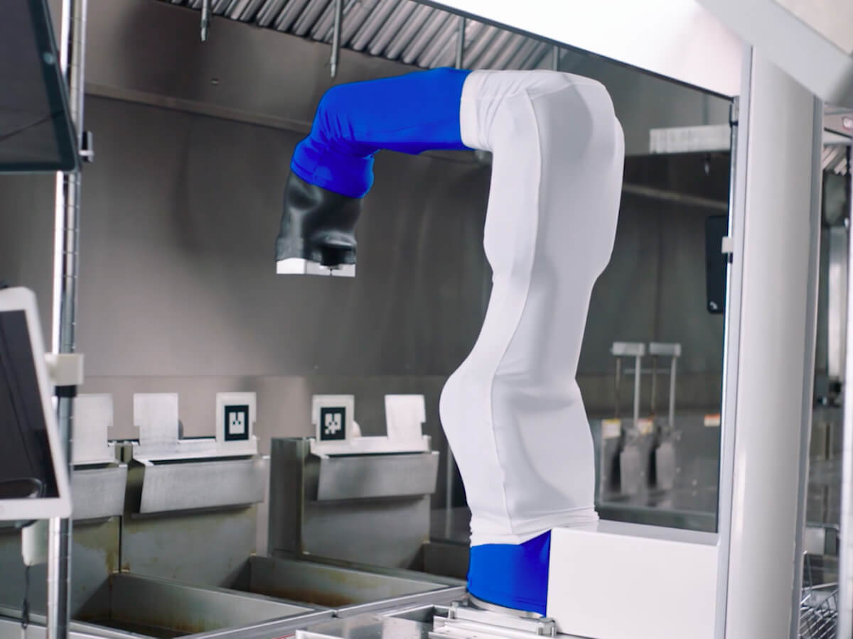 Miso Robotics Flippy Robot Kitchen Assistant automates the cooking process