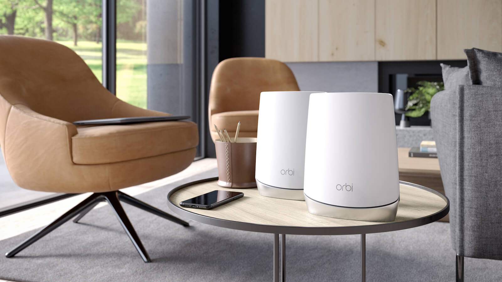 NETGEAR Orbi AX4200 Wi-Fi 6 System provides fast internet speeds for your devices