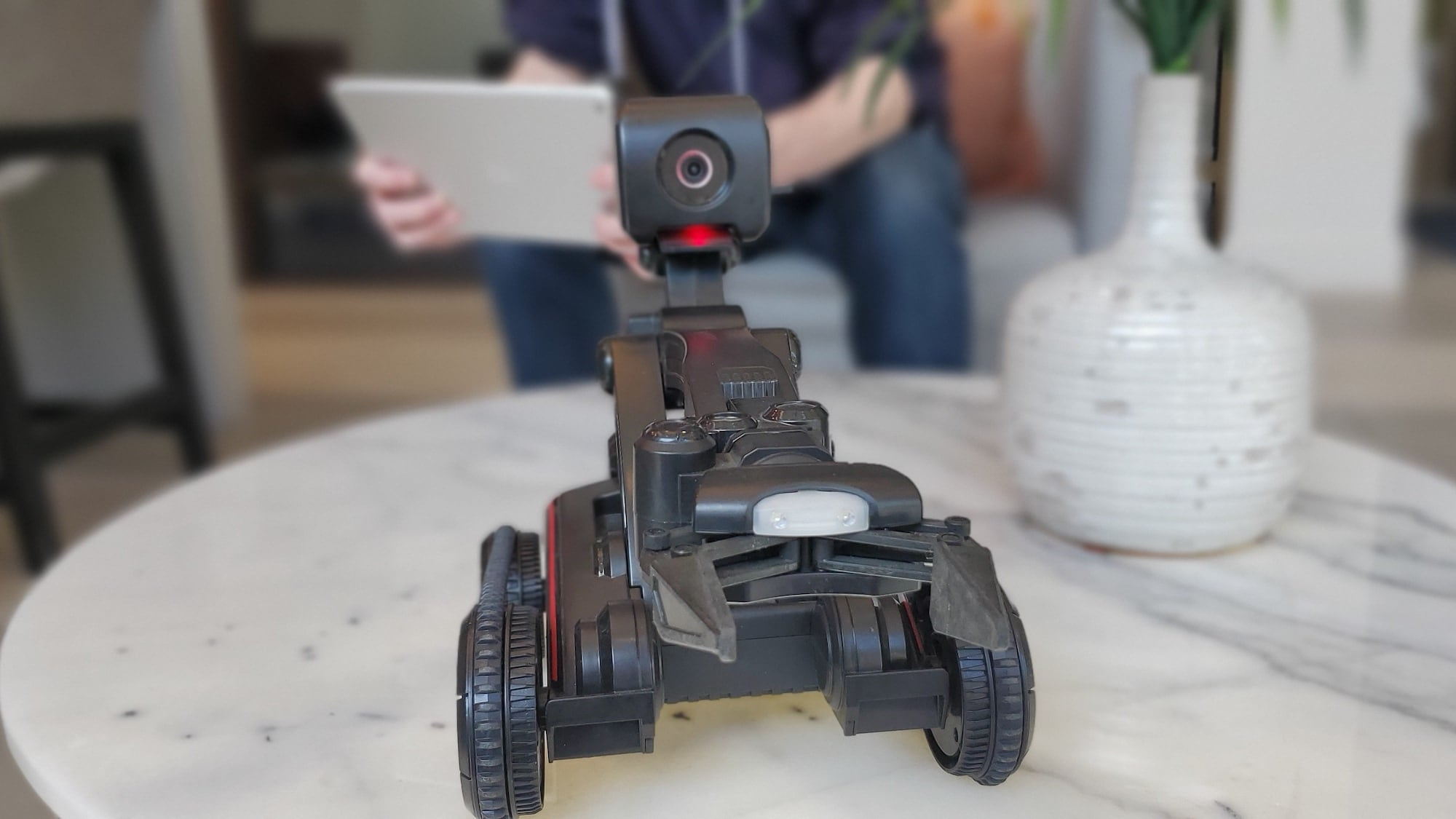 Nabot AI Trainable Robot can be programmed to do chores