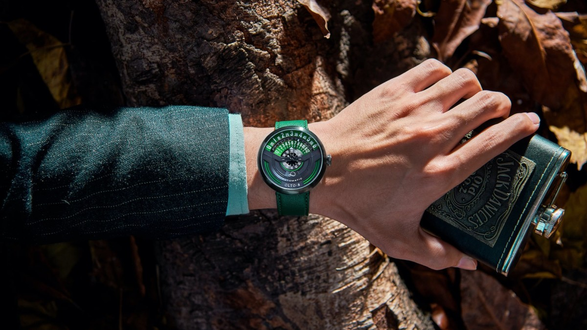 OLTO-8 INFINITY Innovative Mechanical Watch is as fresh and charismatic as you are