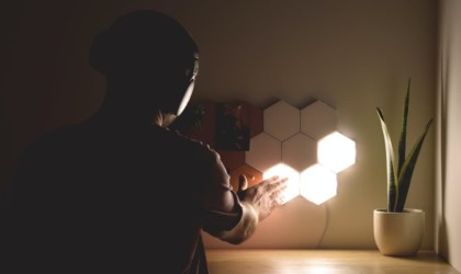 POLYGON Light Magnetic Lighting Tiles