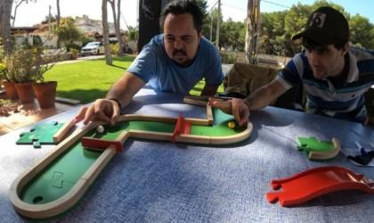 Pitch&Plakks Mini Golf Board Game