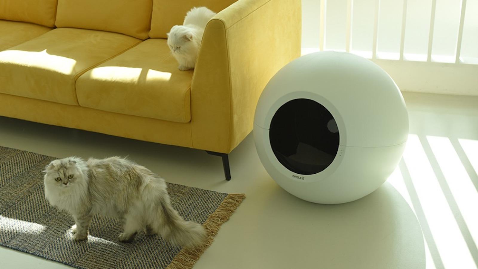 Pluto Circle Zero Smart Litter Box