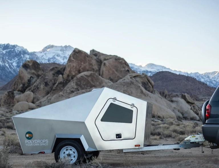 Polydrops Trailer Traveling Camper