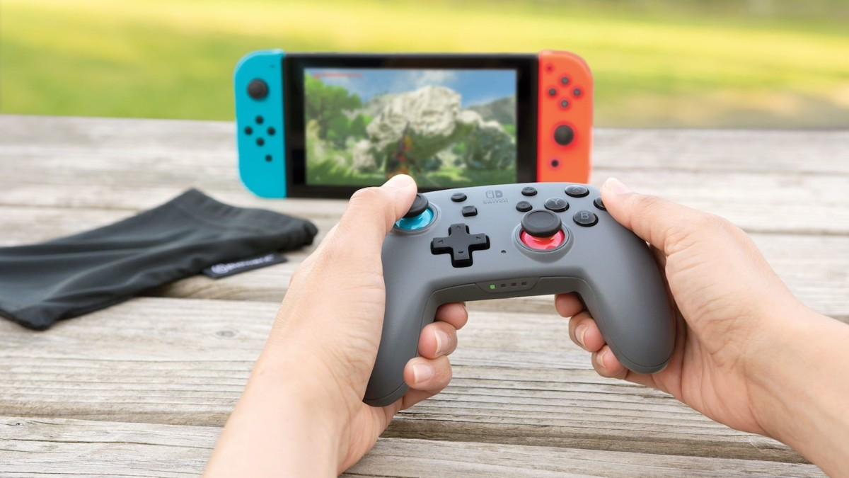 PowerA Nano Enhanced Wireless Controller Rechargeable Gamepad is compact and portable