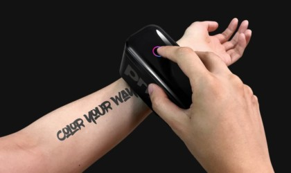 Prinker S Personalized Tattoo Device