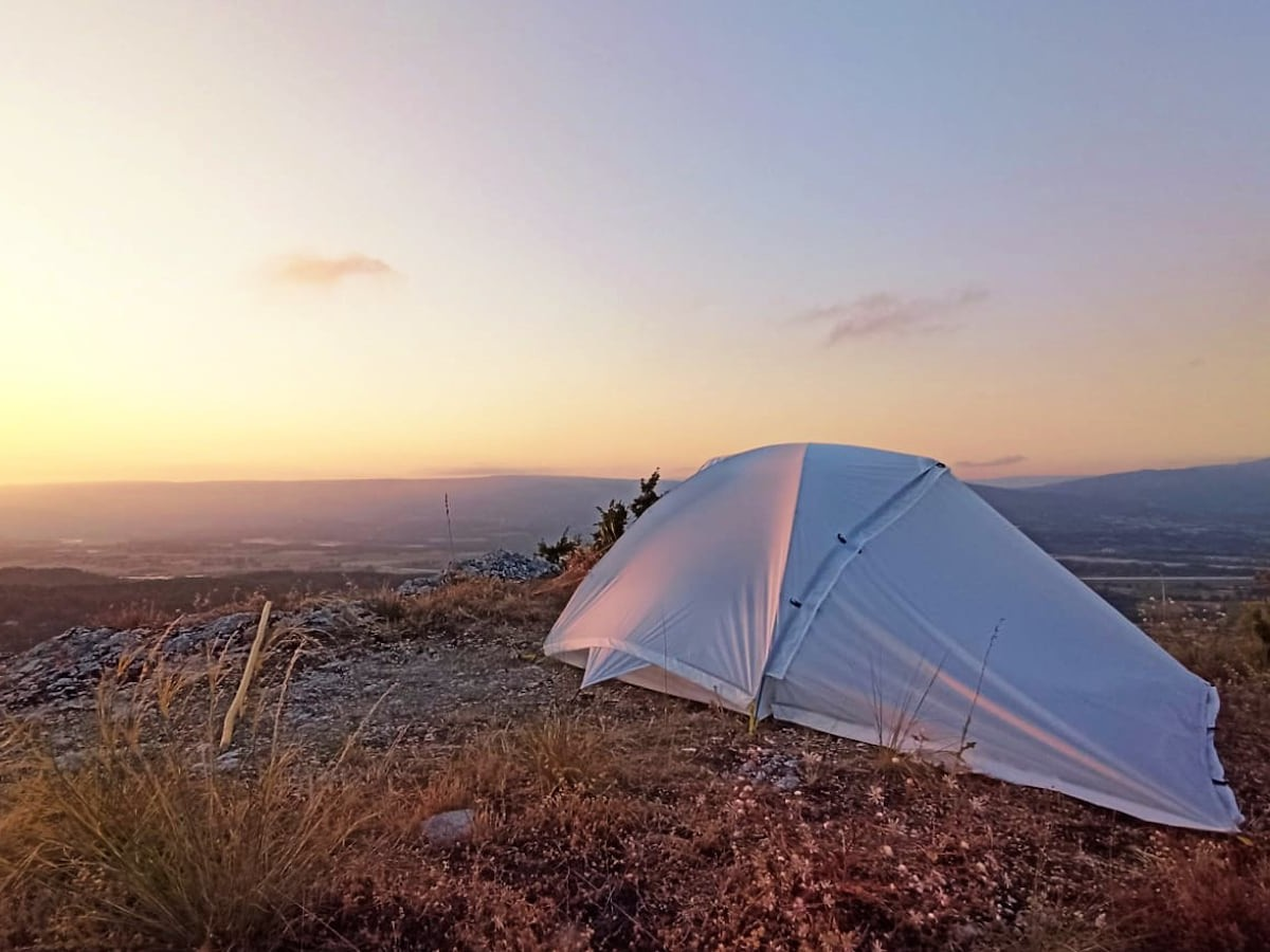Qaou Beluga 6-in-1 tent is made from recycled plastic