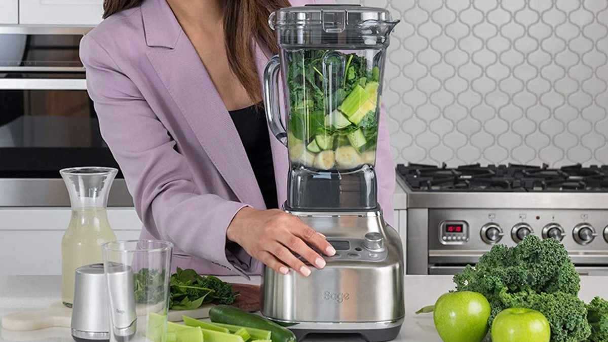 Breville the Super Q Food Blender has noise-suppression technology