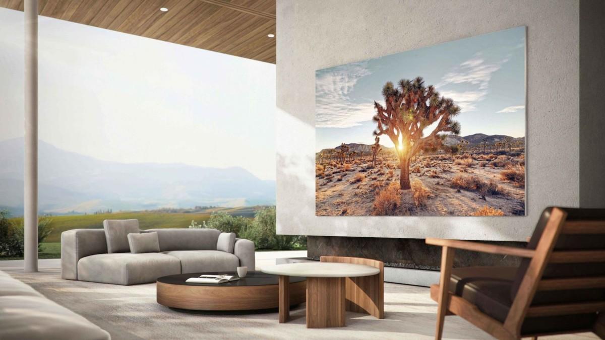 "Samsung 110"" MicroLED TV"