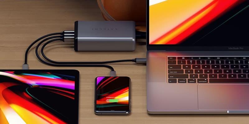 Satechi 108W Pro USB-C PD Wireless Desktop Charger