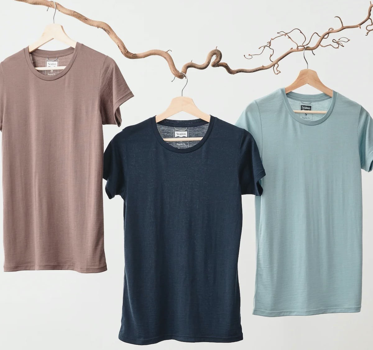 Seadon Eco-Friendly T-Shirts are made with three incredibly soft cooling fabrics