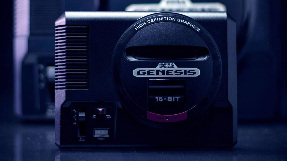 SEGA Genesis Mini Portable Console includes the most popular original games