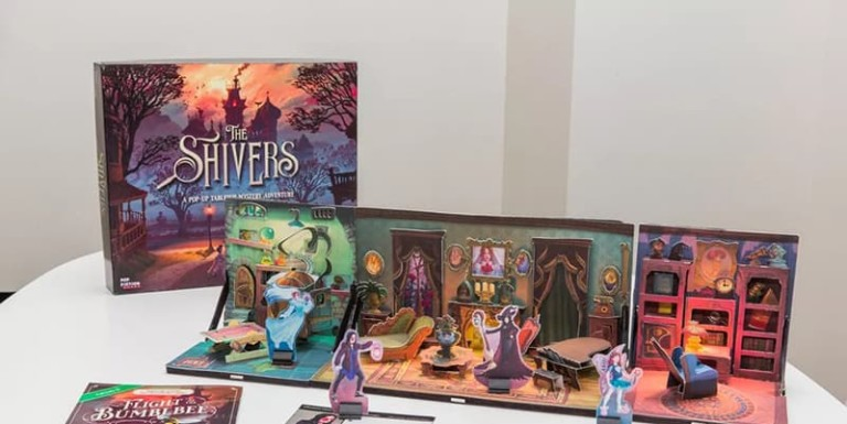 Shivers Mystery Pop-Up Role Playing Game