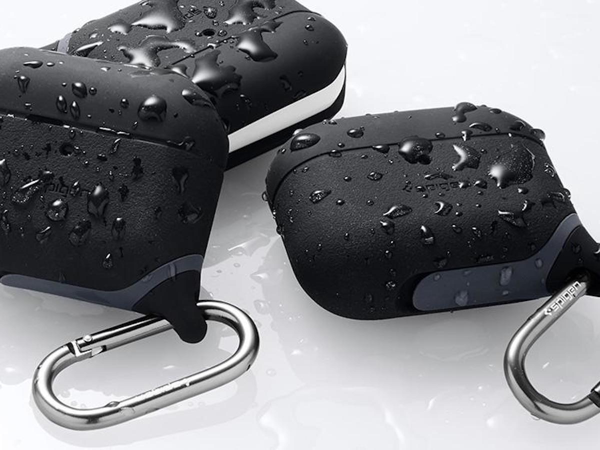 Spigen Slim Armor IP Apple AirPods Pro Case is water resistant