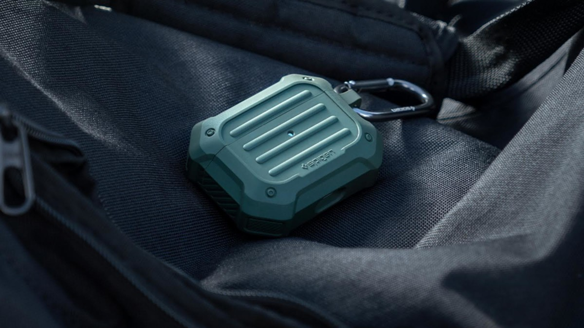 Spigen Tough Armor Apple AirPods Pro Rugged Case is scratch-resistant