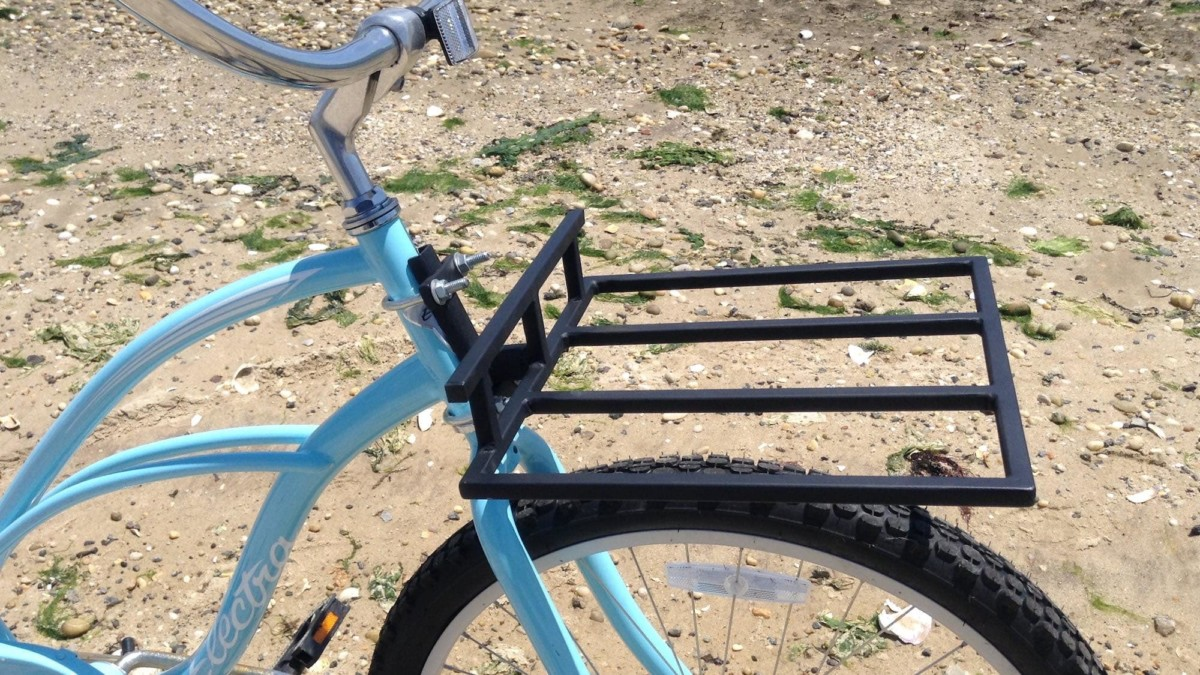 TRACKRAX Strong Bicycle Rack attaches directly to your bike frame