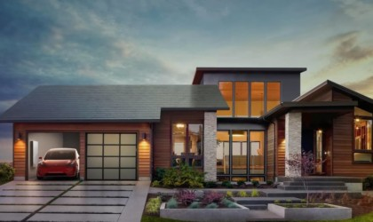 Tesla Solar Roof Sun-Powered Shingles