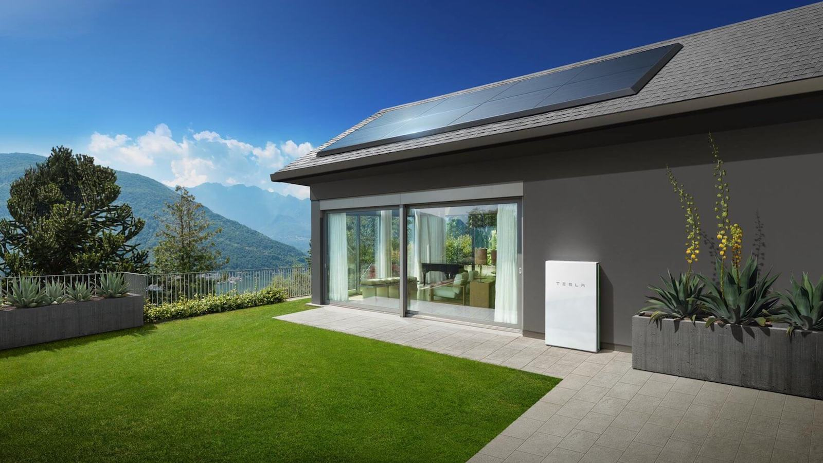 Tesla Solar Panels Rooftop Power