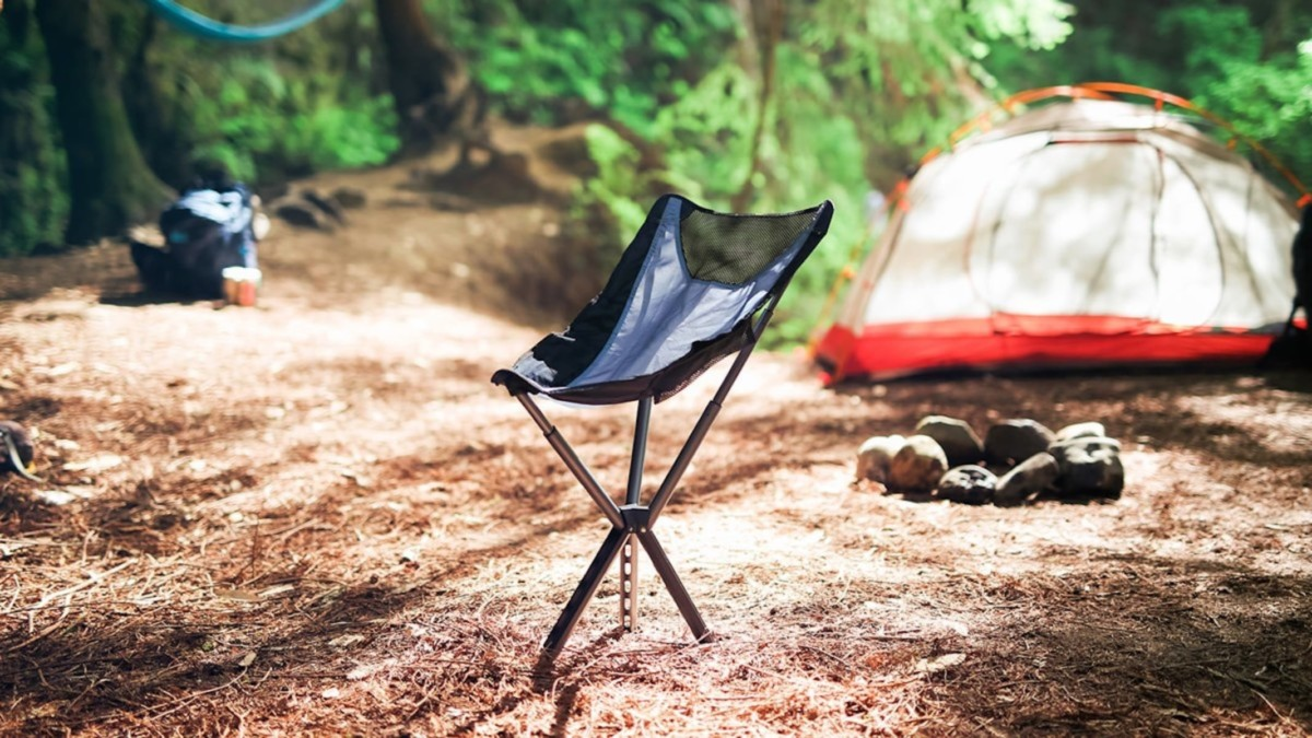 This ultralight chair will help you sit more comfortably, anywhere