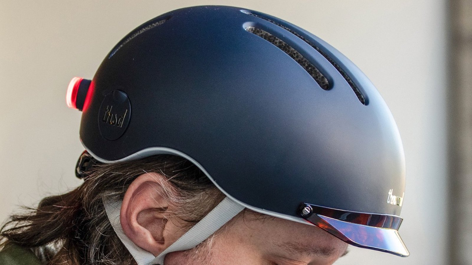 Thousand Chapter MIPS Helmet improves your visibility at night