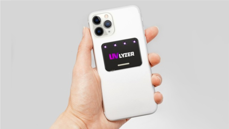 UVLyzer Smartphone Sanitizer Sticker
