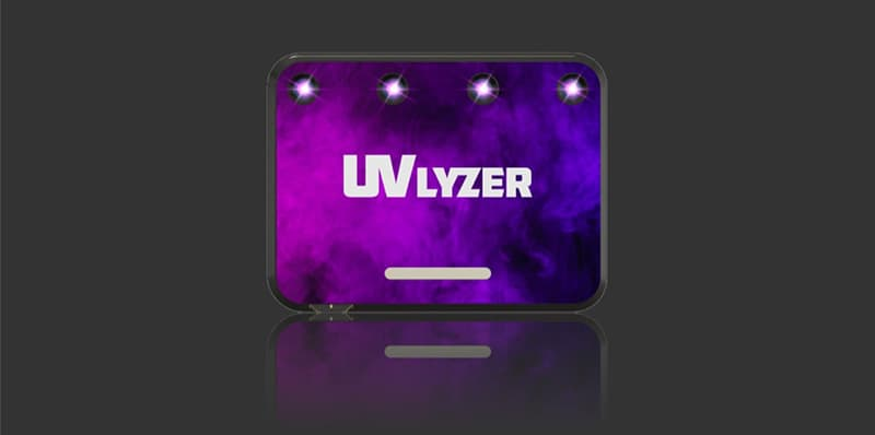 UVLyzer Smartphone Sanitizer Sticker