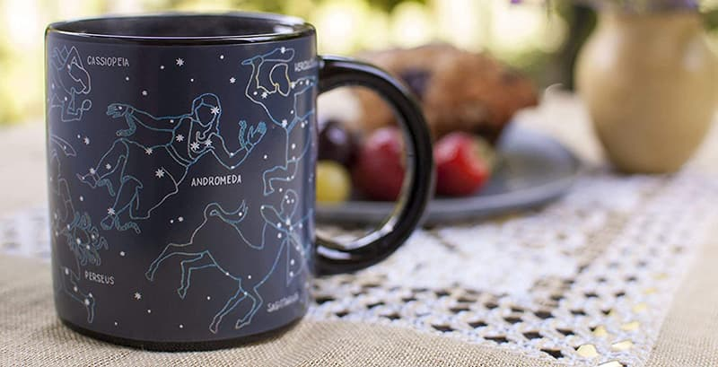 Unemployed Philosophers Guild Heat Changing Constellation Mug