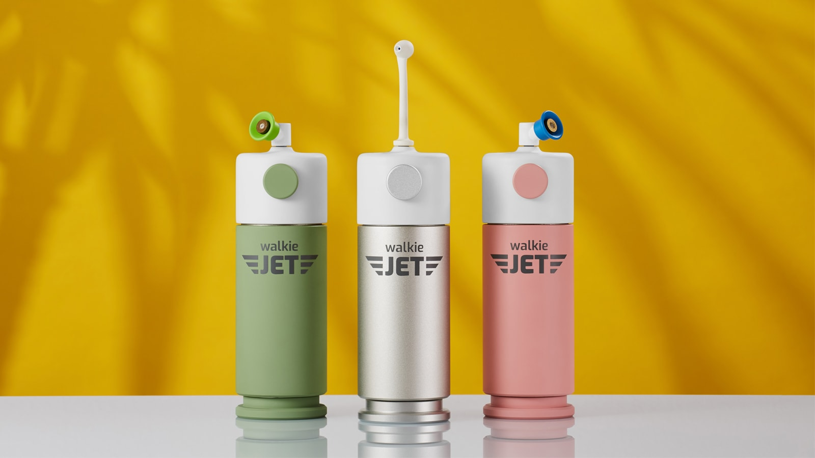 Walkie JET travel water flosser is great for camping and adventures