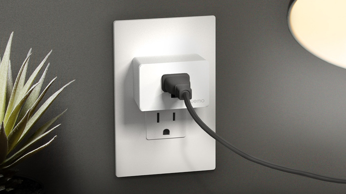 Wemo WiFi Smart Plug Compact Outlet lets you control your home from anywhere