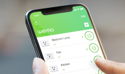 Wemo WiFi Smart Plug Compact Outlet