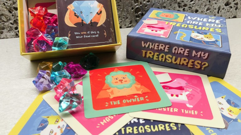 Where Are My Treasures Interactive Social Card Game sends you in pursuit of museum thieves
