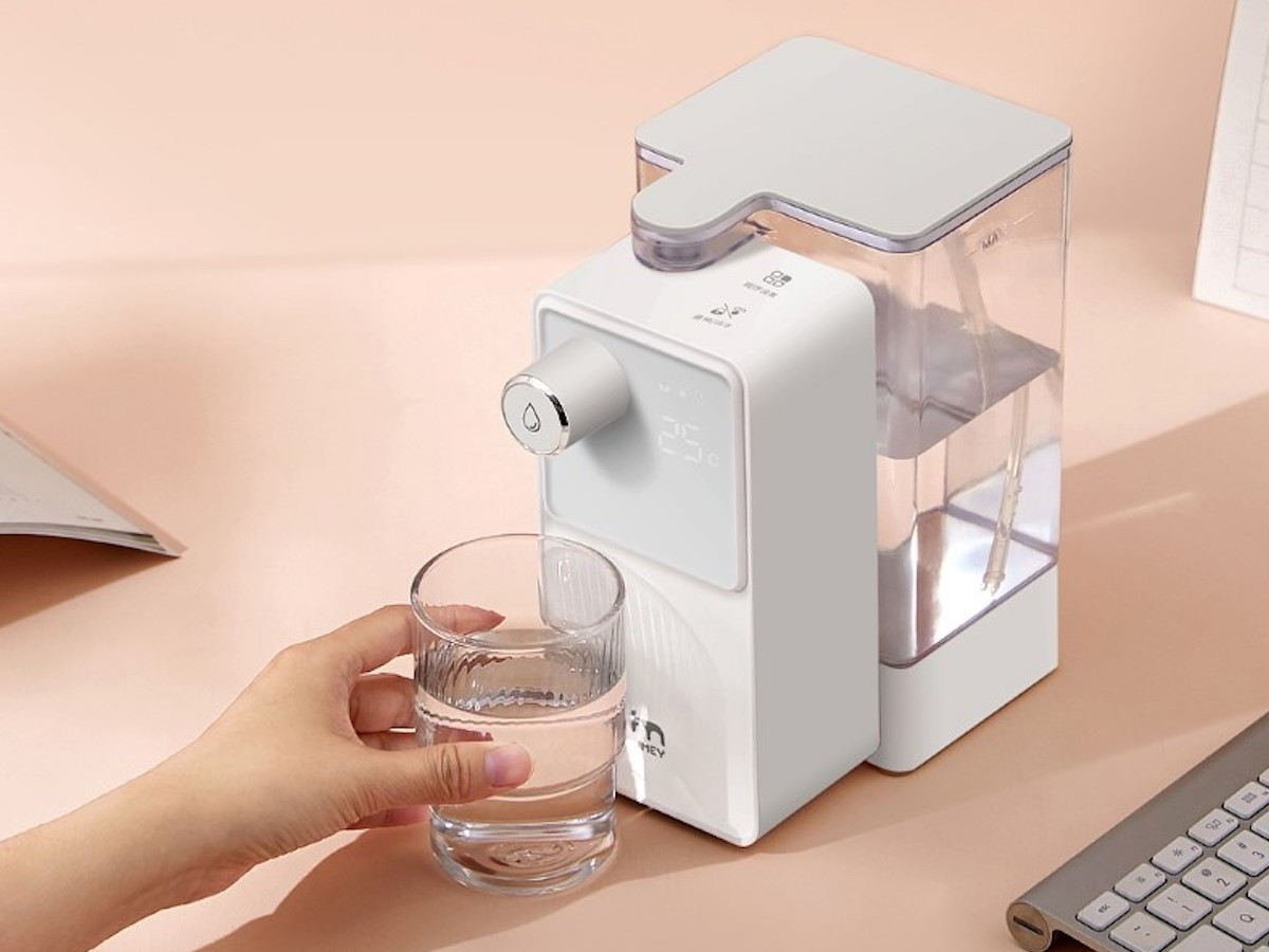 Xiaomi JMEY M2 water dispenser allows you to have a hot beverage on the go