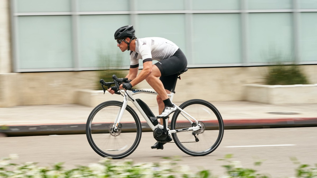 Yamaha Civante Road eBike offers pedal assist up to 28 mph