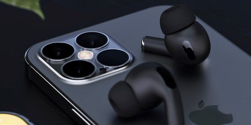 Concept iPhone 12 in Black / Image Credit: Yanko Design, @smazizg