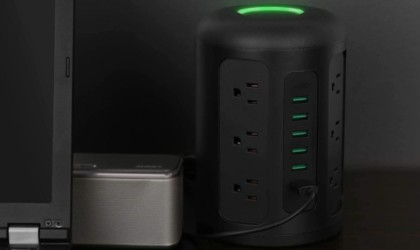 AUKEY Power Strip Surge Protector Tower