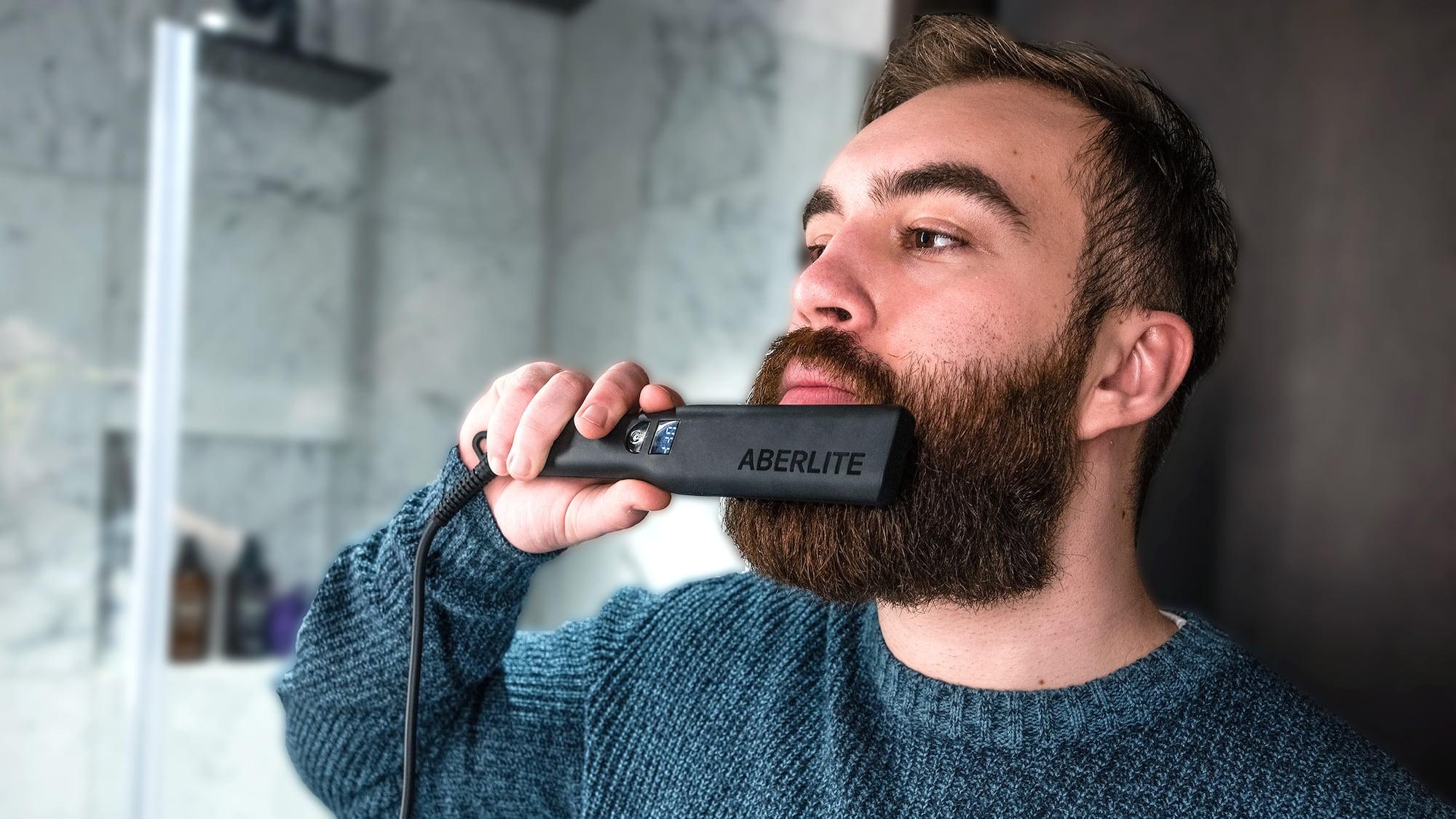 Aberlite Pro Beard and Hair Straightener