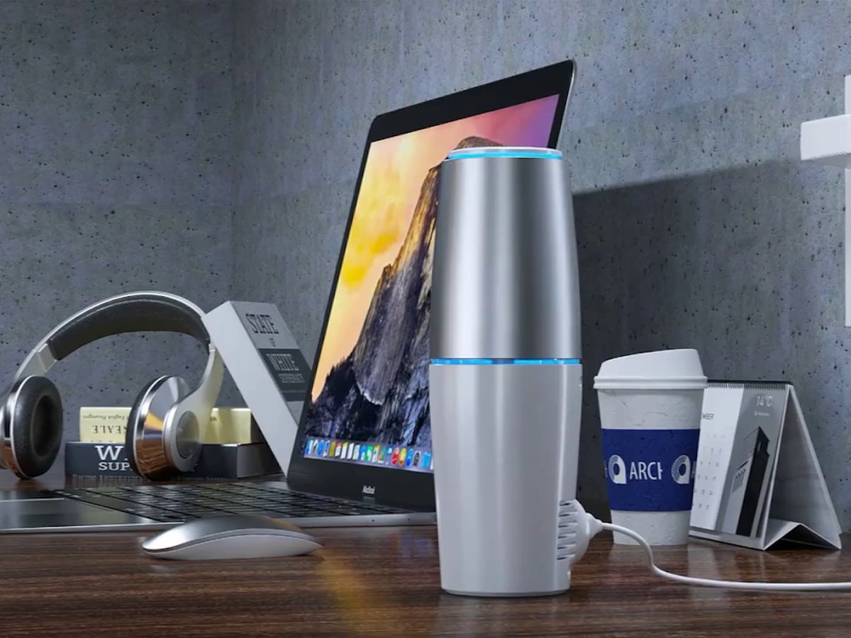 AirTherapy filter-free air purifier helps stop viruses, bacteria, and germs