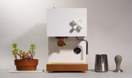 AnZa Concrete Coffee Machine