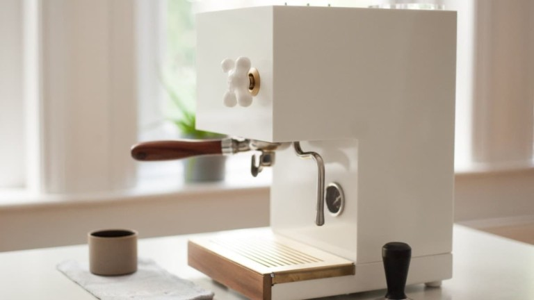 AnZa White Home Espresso Machine