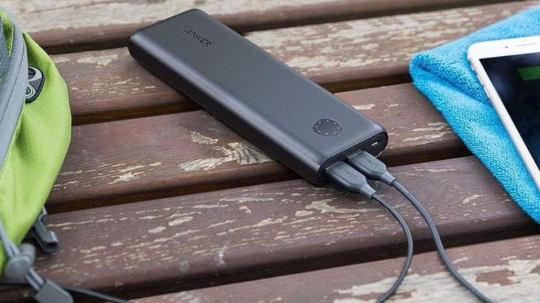 Anker PowerCore II 20000 high-capacity portable charger can power 6 phones