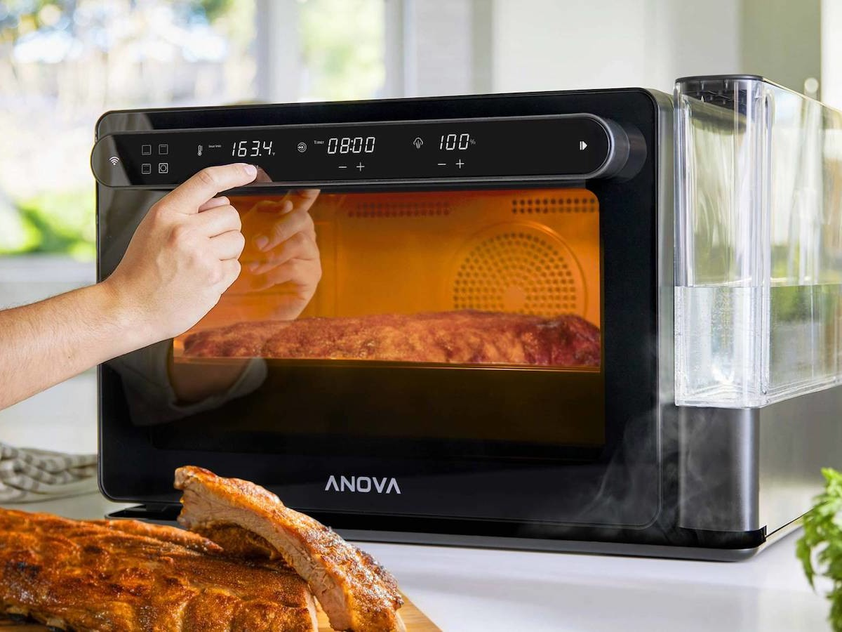Anova Precision Oven combi-cooker lets you monitor your food from an app