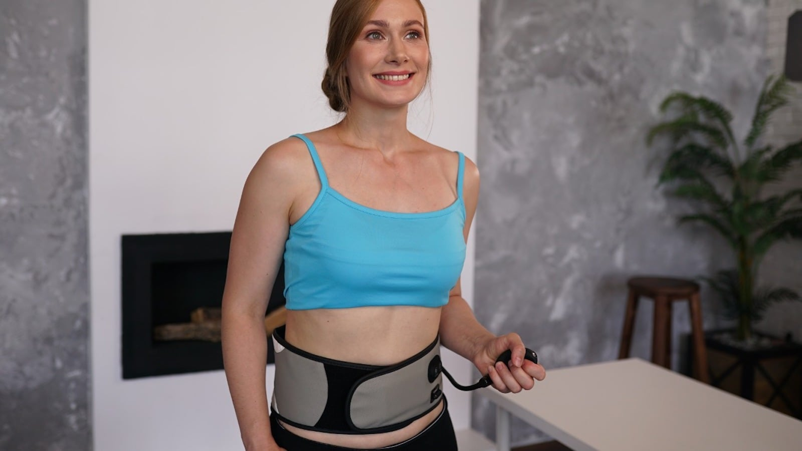 BackOSage decompression massage belt helps relieve your spinal pain